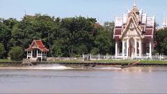 Bangkok Canal Boat Traffic Stock Footage
