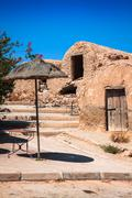 Medenine (tunisia) : traditional ksour (berber fortified granary) Stock Photos