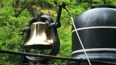 Locomotive Bell Ringing, 4K Stock Footage