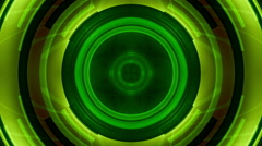Science Fiction Green Abstract Loop Stock Footage
