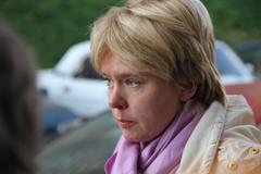 Candidate for mayor of khimki opposition leader yevgeniya chirikova Stock Photos