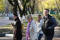candidate for mayor of khimki opposition leader yevgeniya chirikovachirikova - stock photo