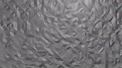 Small gray triangles changed, loop background. - stock footage