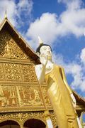 Pha That Luang Stock Photos