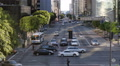 Rush Hour Commuter Busy Los Angeles City Street Transportation Crosswalk US Road Footage