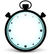 Stopwatch illustration Stock Illustration