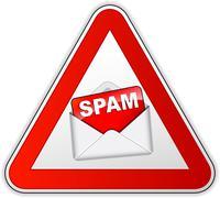spam icon - stock illustration