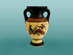 Greek amphora Stock Photos