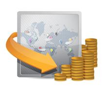 Stock Illustration of international currency