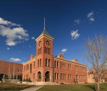 old flagstaff courthouse - stock photo