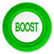 Boost icon. Stock Illustration