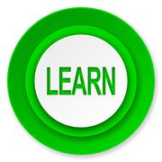 learn icon. - stock illustration