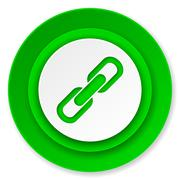 link icon, chain sign. - stock illustration