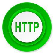 Http icon. Stock Illustration