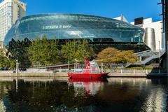ottawa convention center, ottawa, canada - stock photo