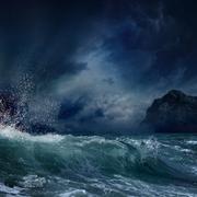 Stock Photo of stormy sea
