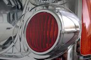 Stock Photo of pickup headlight