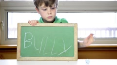 Stop Bullying Concept - stock footage