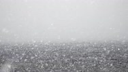 Stock Video Footage of Lake Snow, Blizzard, Winter