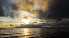 Dumaguete Sunrise 02 - stock footage