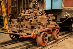 wagon linkages - stock photo