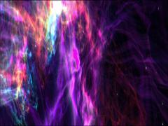 Colour space nebula widescreen loop Stock Footage