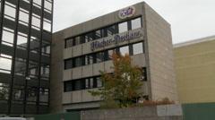 Hacker Pschorr Company Office Stock Footage