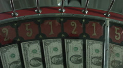 WHEEL OF FORTUNE SPINNING WITH REAL U.S. CURRENCY Arkistovideo