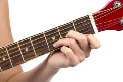Image of chord guitar - stock photo