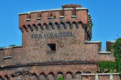 wrangel tower - stronghold of koenigsberg. kaliningrad, russia - stock photo