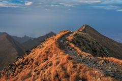 Fagaras mountains, southern carpathians Stock Photos