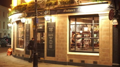 Britains oldest brewer English Pub in London Greenwich - stock footage