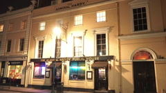 The Admiral Hardy Public House Greenwich - stock footage