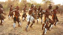 African tribal song and dance variations in Victoria Falls, Zimbabwe. Arkistovideo