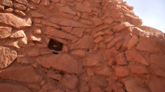 Ancient Ruins of Pukara Stock Footage