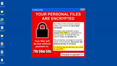 Computer Virus Attack - File encryption / Ransomware. Stock Footage