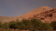 Ancient Ruins of Pukara/ Panoramic Stock Footage