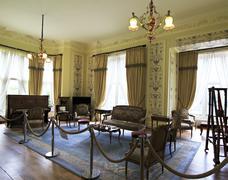 Interior Kylemore Abbey. - stock photo