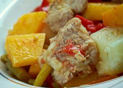 Stock Photo of andalusian gypsy stew