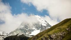 Grossglockner south face time lapse Stock Footage
