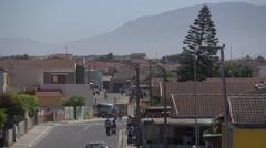 Mitchells Plain street,Cape Town Stock Footage