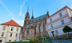 temple sacred peter and pavel in brno, the czech republic - stock photo