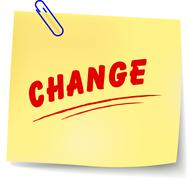 Change message Stock Illustration