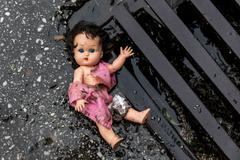 Symbolfoto abuse of children Stock Photos