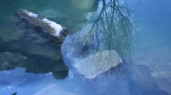 Sun reflection in the water Stock Footage
