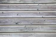 Stock Photo of grey planks of old fence