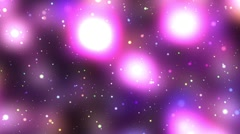 Purple Pink Glowing Colorful Psychedelic Starfield Loop 2 rotate left Stock Footage