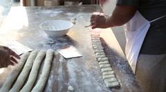 Thai cuisine training Stock Footage