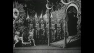 Georges Méliès - A Trip to the Moon (1902) Stock Footage