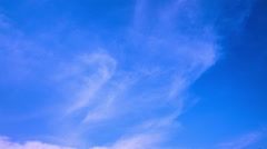 Clouds and Clear Sky-4K Stock Footage